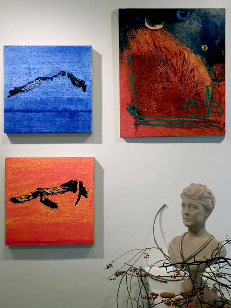 Pasta Beach ArtPop Enzo Tomasello paintings